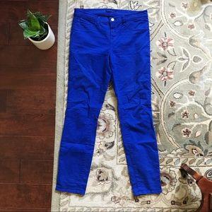 J Brand Bright Royal Pants
